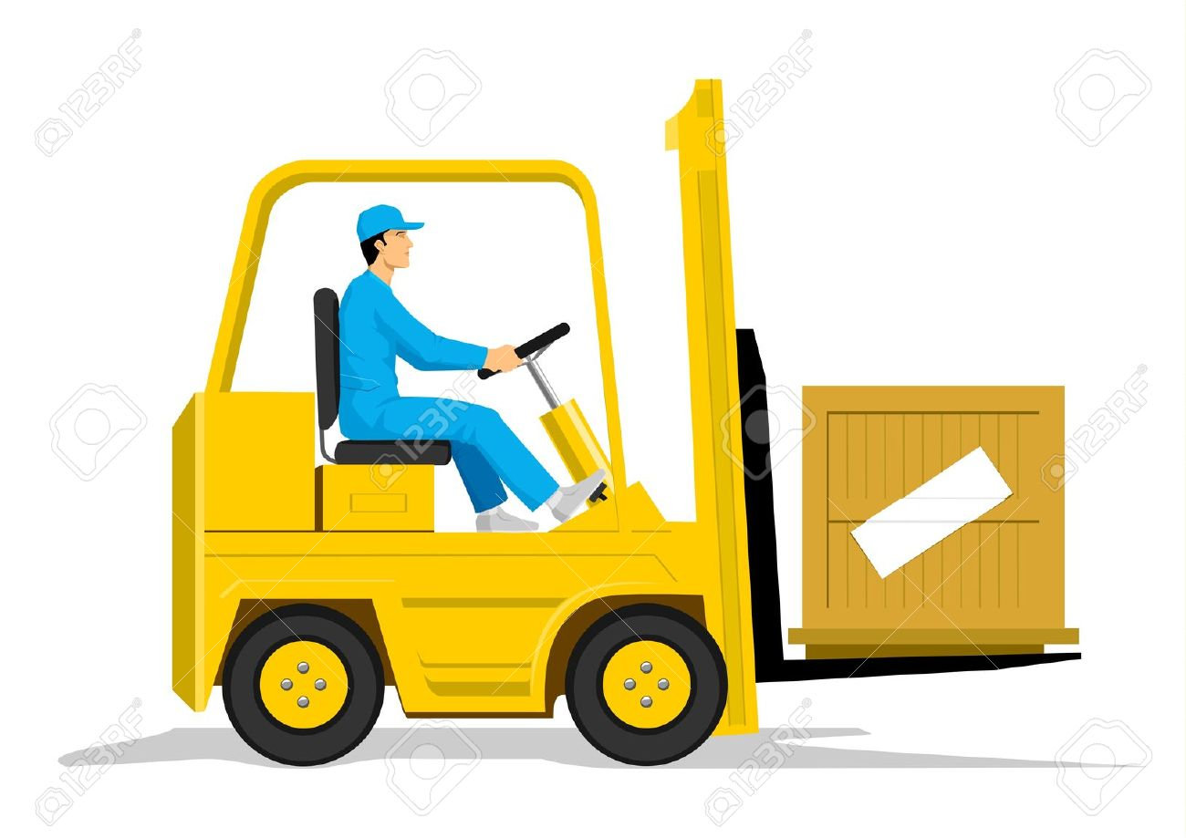 The best free Forklift clipart images. Download from 39 free.