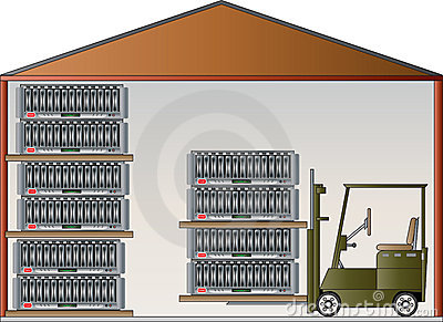 Warehouse Clipart Page 1.