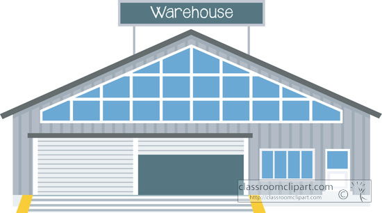 Warehouse clipart images.