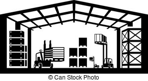 Warehouse Clip Art.