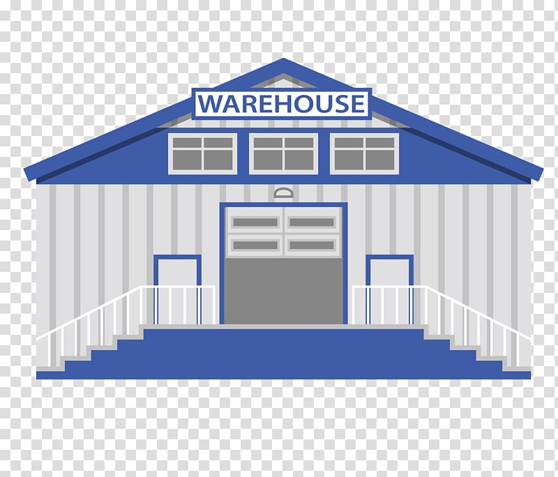 Warehouse Cartoon, cartoon warehouse transparent background.