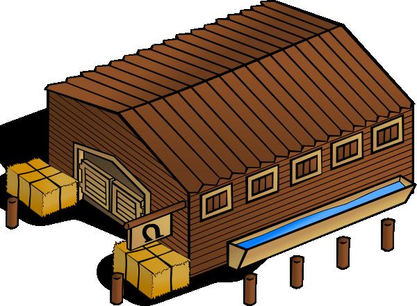 Warehouse clipart symbol.