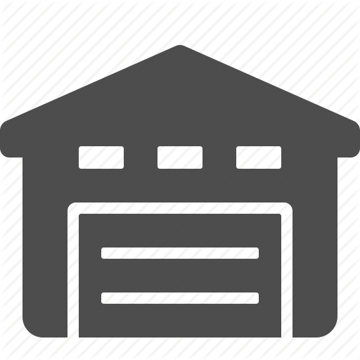 Warehouse Icon clipart.