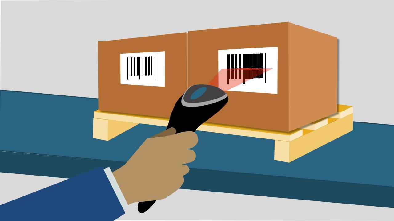 3D Logistics Warehouse PowerPoint Shapes.