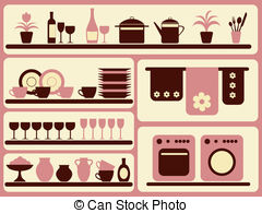 Table wares Stock Illustrations. 576 Table wares clip art images.