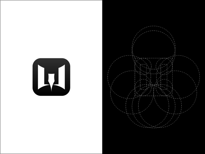 Warface Logo Golden Ratio by Naughty_Ru on Dribbble.