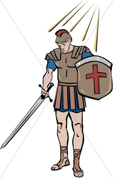Spiritual Warfare Clipart, Armor Clipart.