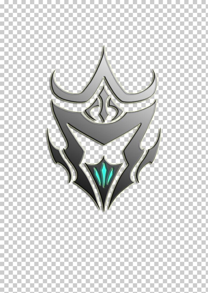 Warframe Logo Symbol Clan Emblem, Warframe, gray and green.