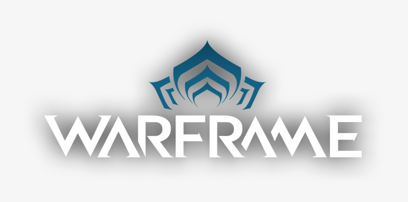 Warframe Logo Png Graphic Black And White.