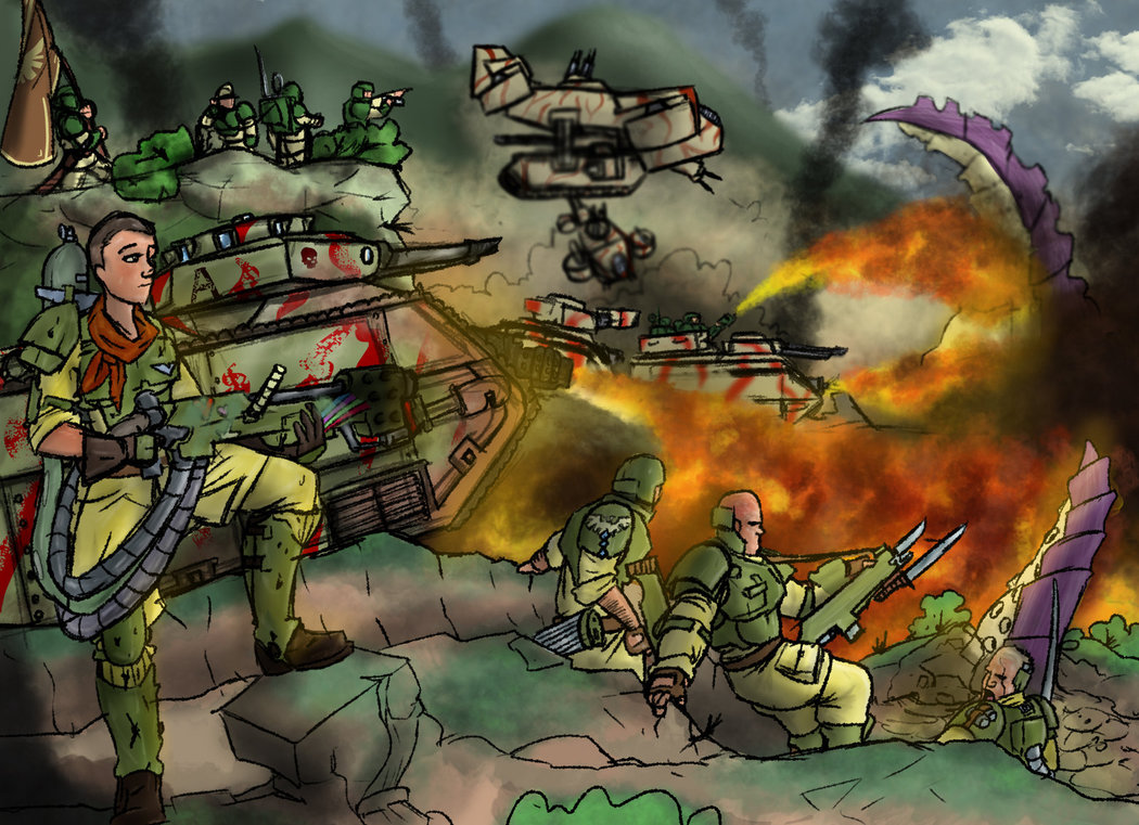 Showing post & media for Imperial guard cartoon.