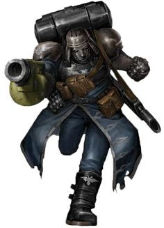Warhammer 40k Imperial Guard Clipart.