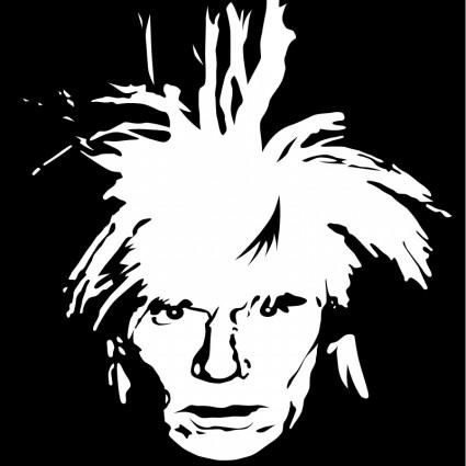 Andy Warhol Clip Art.