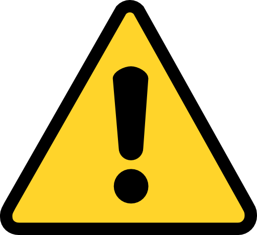 Warning clip art free clipart images.