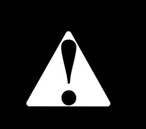 Clipart warning.