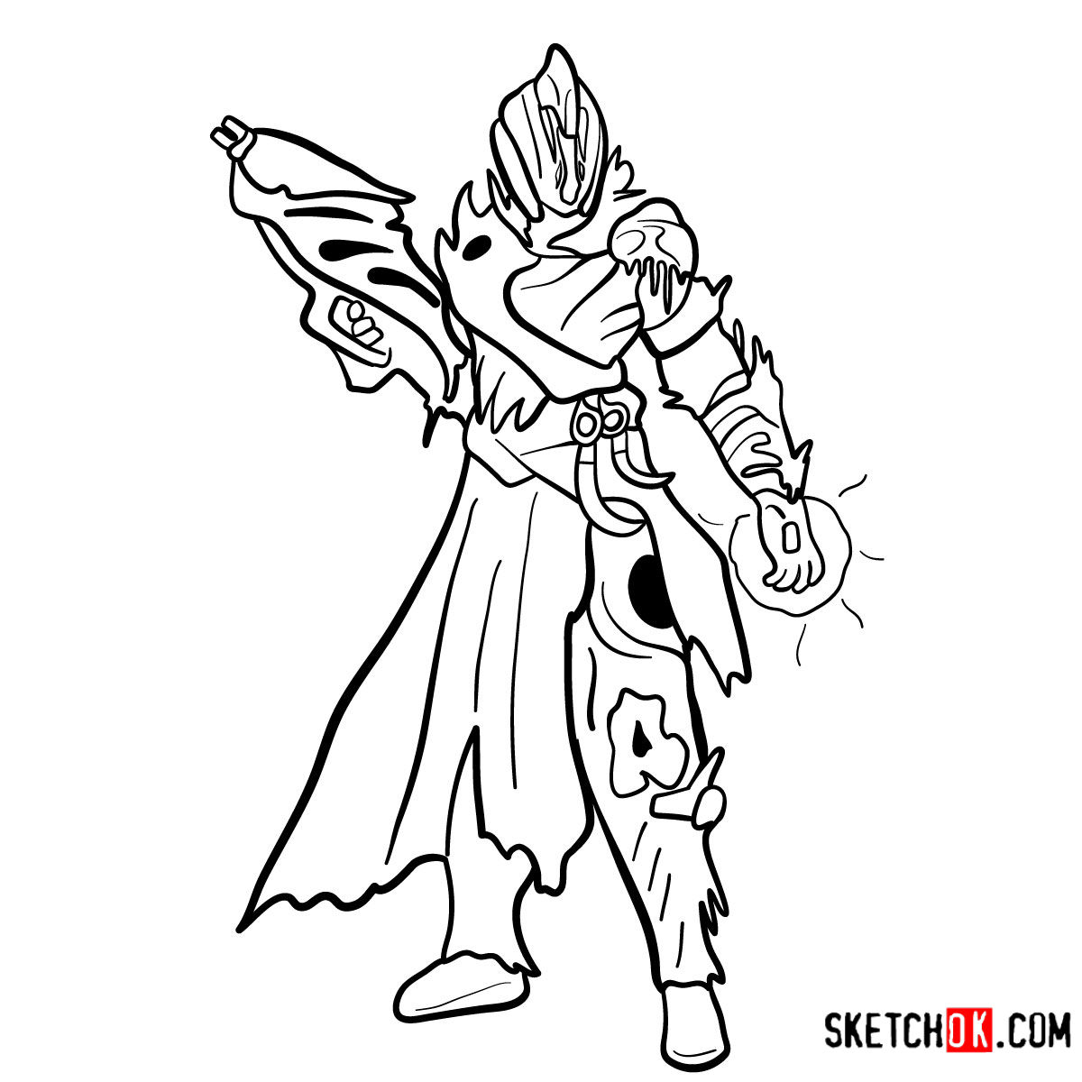 Collection of Warlock clipart.