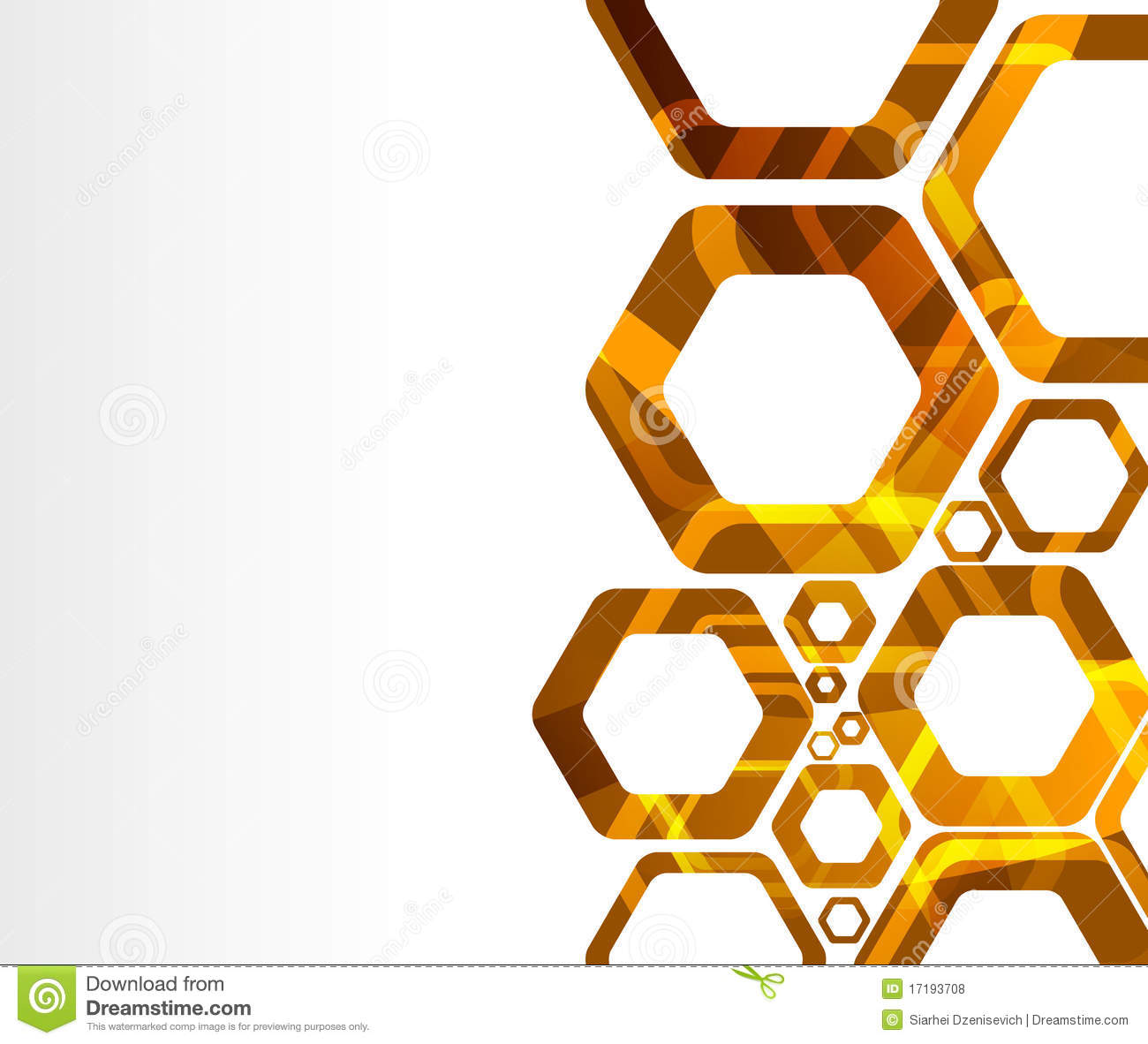 Geometry Background In Warm Colors Royalty Free Stock Photos.