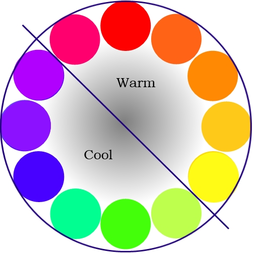 3rd Grade: Warm And Cool Color Symmetry.