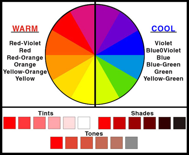 Warm Colors Clipart