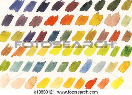Clipart of Color theory.