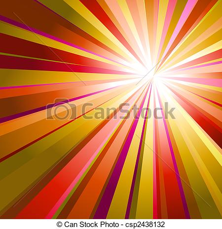Clip Art of Abstract background with warm colors.