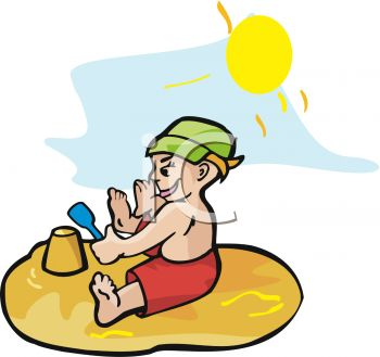 Warm Day Clip Art.