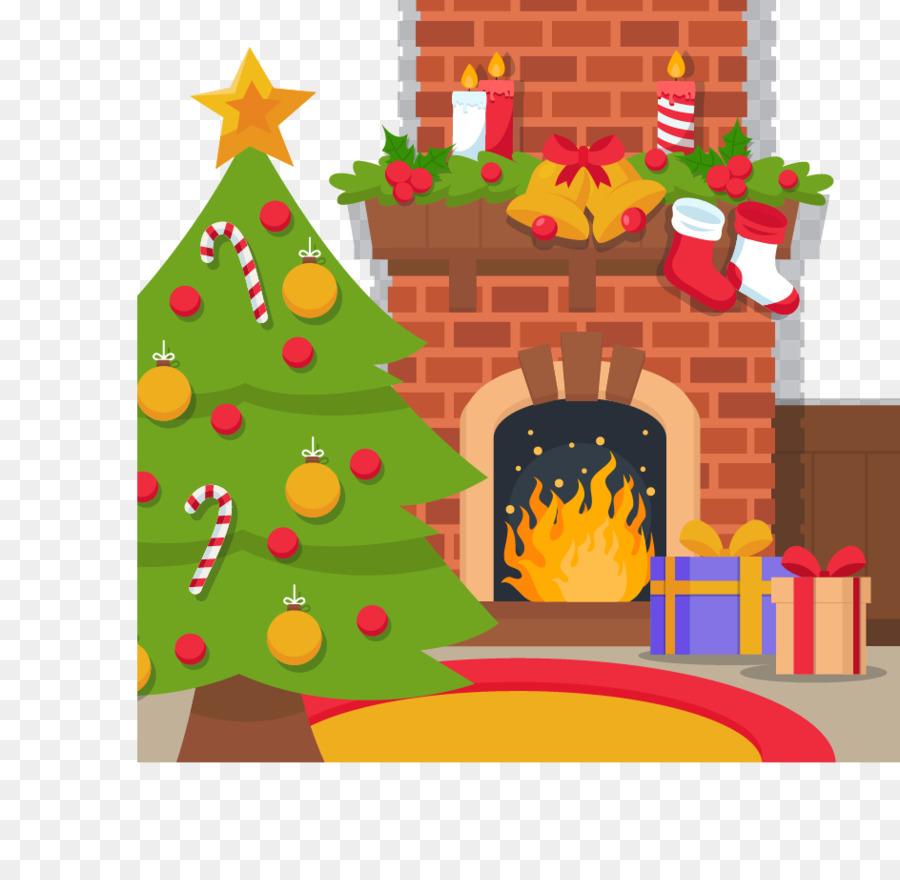 Christmas Tree Cartoon.
