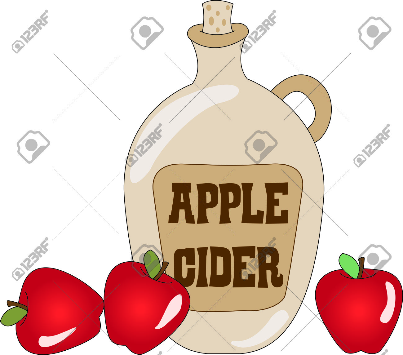 479 Apple Cider Stock Vector Illustration And Royalty Free Apple.