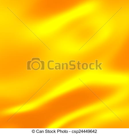 Drawing of Gold Background Warm Yellow Color Tone.