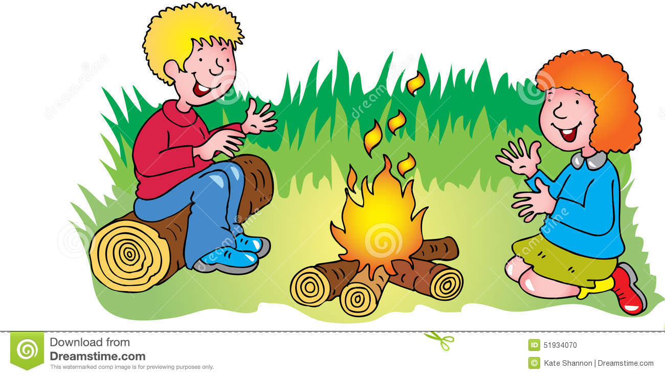 Warm Fire Clipart.