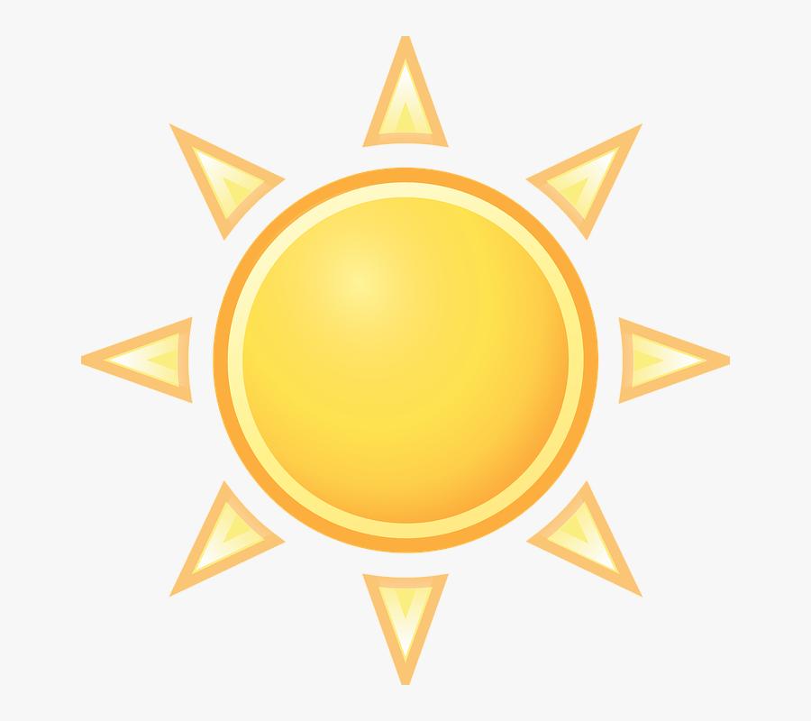 Warm, Sunny, Sun, Cloudless, Summer, Sunrays, Weather.