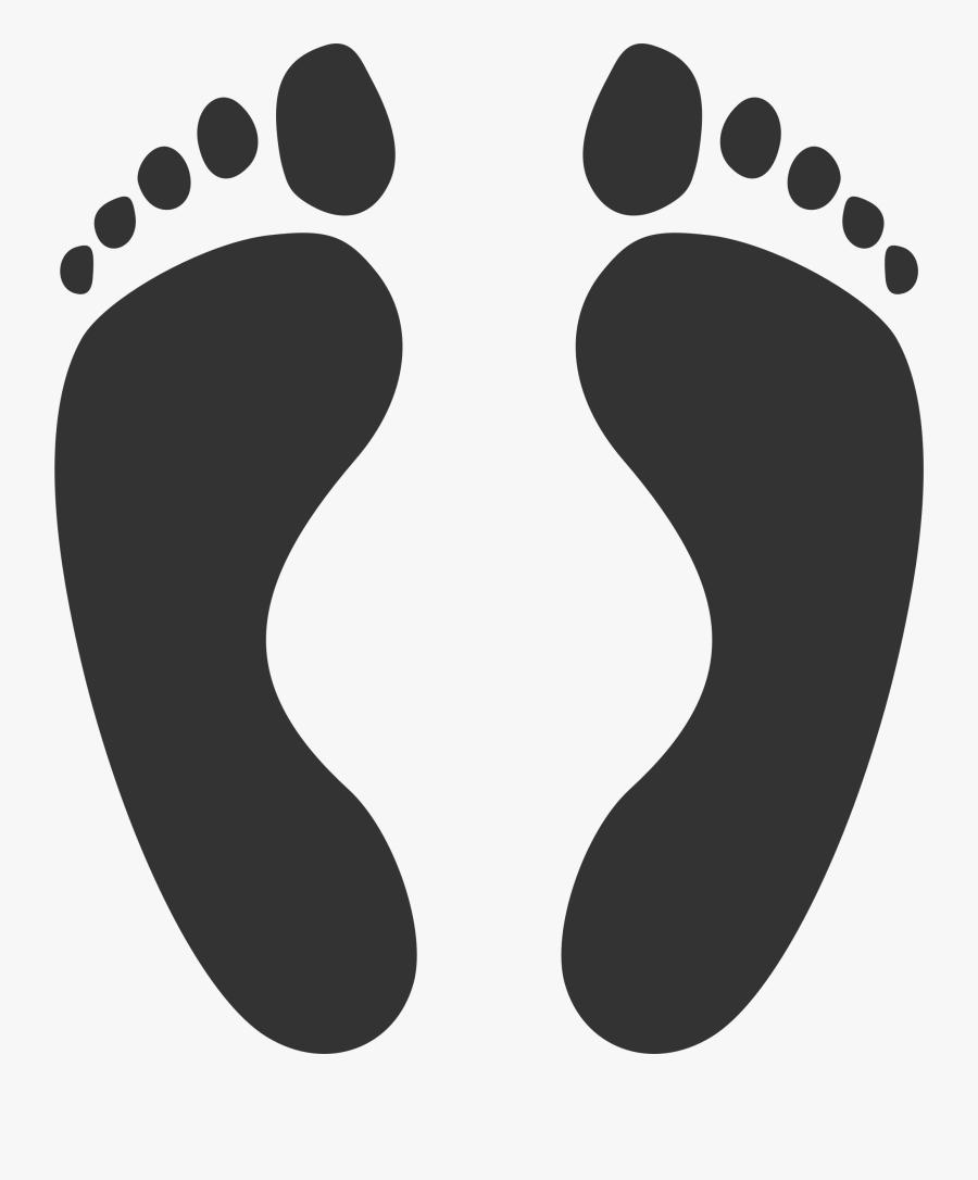 Big Feet Clip Art.