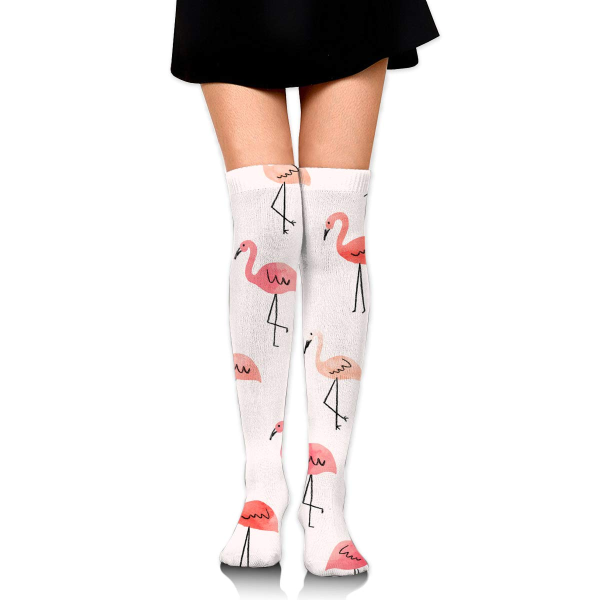 Light Venus Pink Flamingo Clipart Womens Girls Cotton Long.