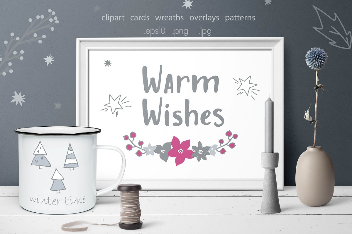 Warm Wishes Christmas collection.
