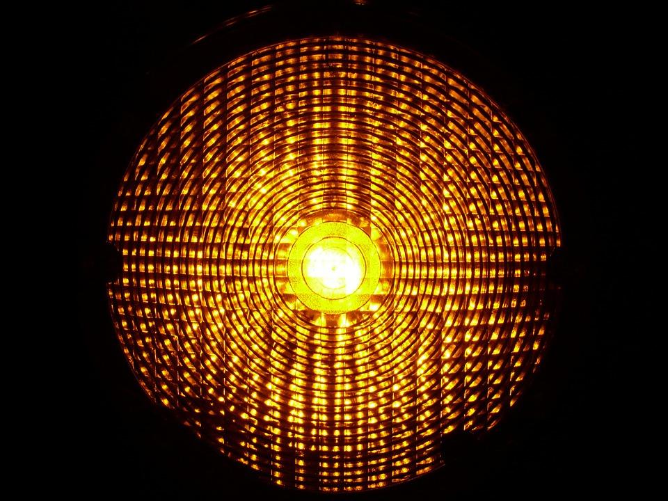 Free photo Warning Light Warning Lamp Warnblinkleuchte.
