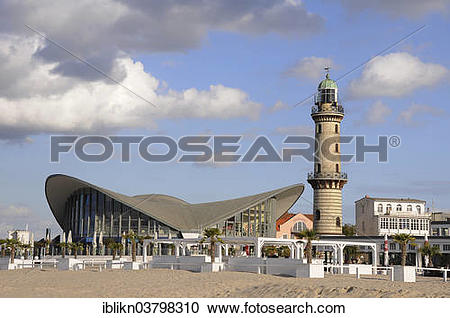 """Stock Photography of """"Lighthouse and the Teepott restaurant."""