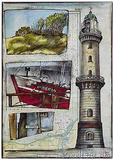 Kunstdruck Poster: Amrum.