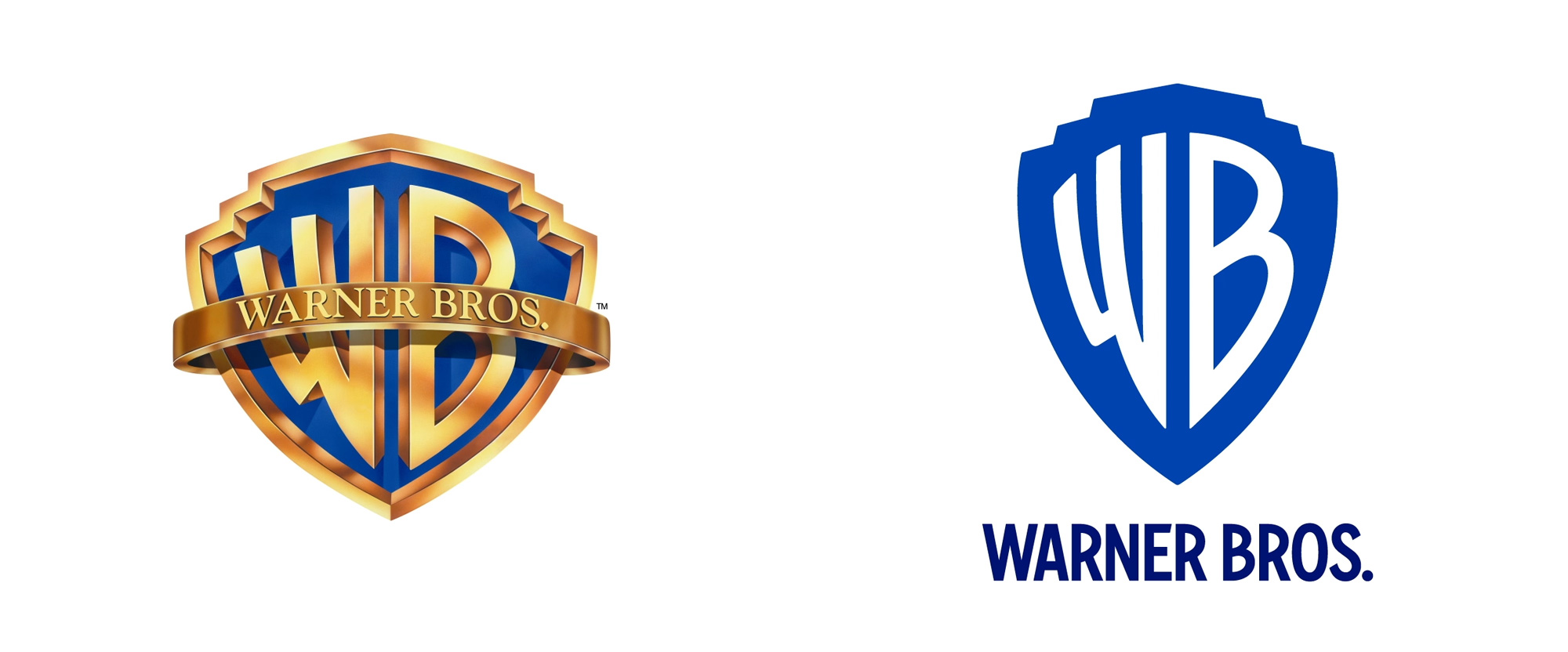 Brand New: New Logo and Identity for Warner Bros. by Pentagram.