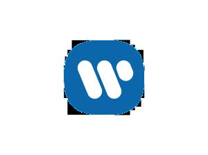 Warner Music logo.