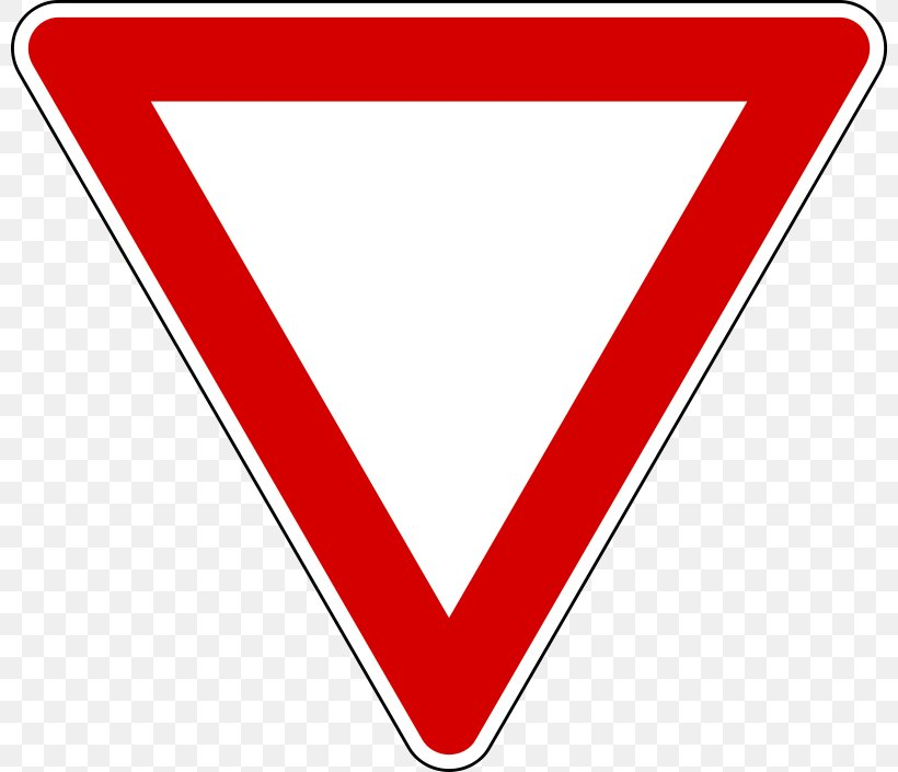 Yield Sign Traffic Sign Stop Sign Warning Sign Clip Art, PNG.