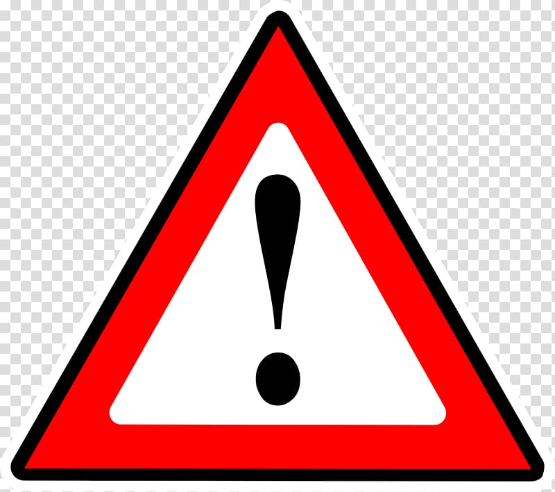 Exclamation mark Triangle Warning sign Computer Icons.