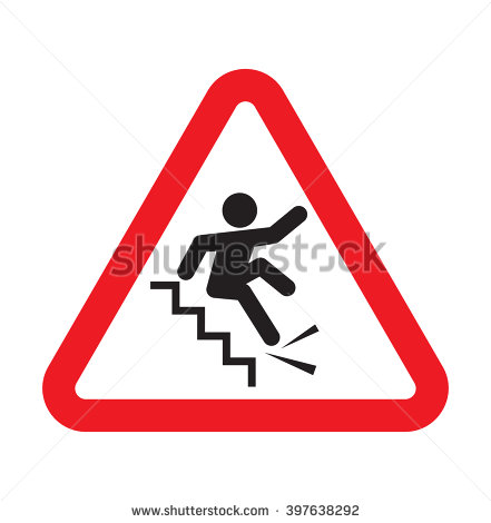 Falling Down Stairs Stock Photos, Royalty.