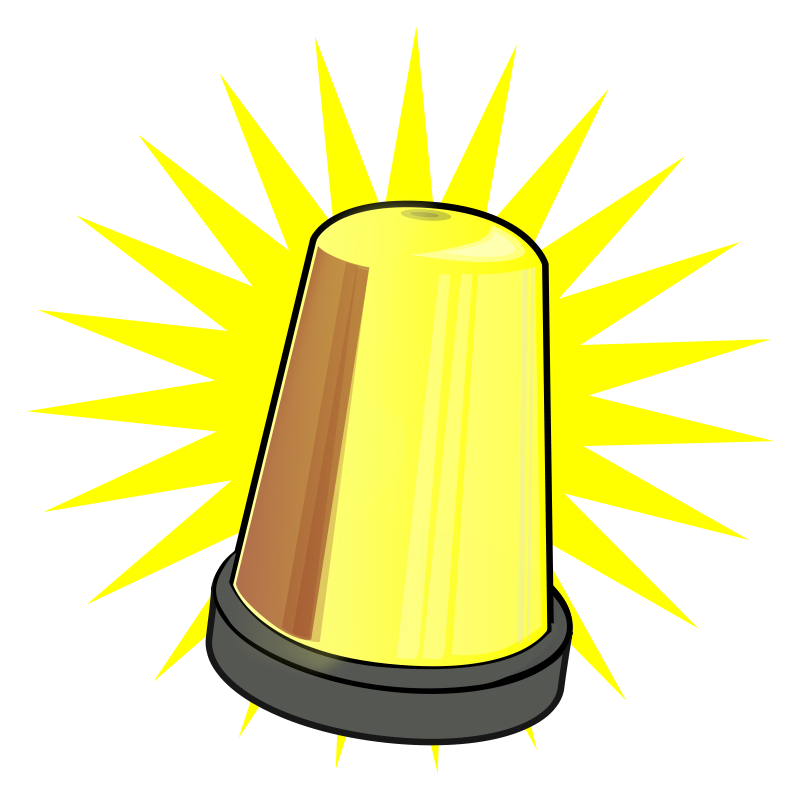 Warning Lamp Clipart Clipground