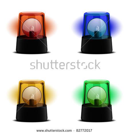 Warning Lamp Stock Vectors & Vector Clip Art.