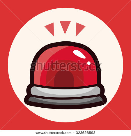 Warning light clipart - Clipground