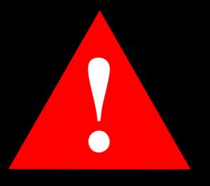 Warning light clipart