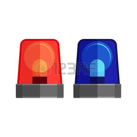 460 Police Lights Stock Illustrations, Cliparts And Royalty Free.