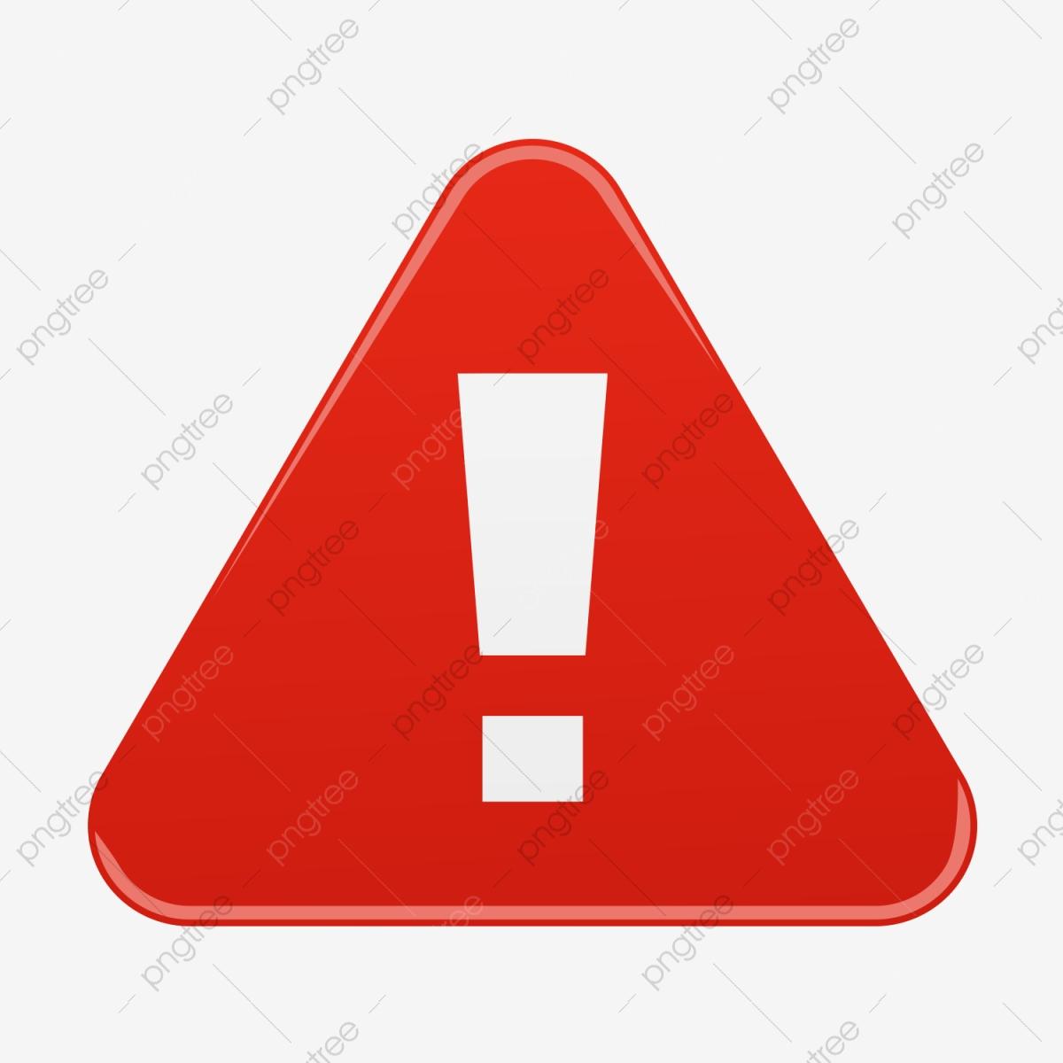 Warning Sign Signal Alert, Warning, Red PNG Transparent.
