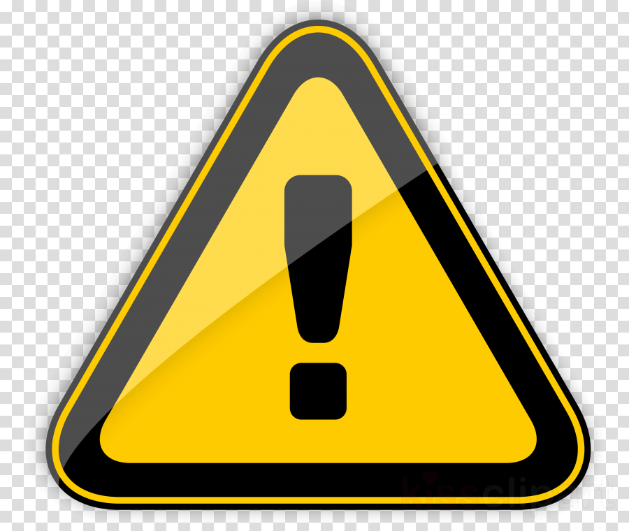 Warning Sign, Sign, Hazard Symbol, transparent png image.