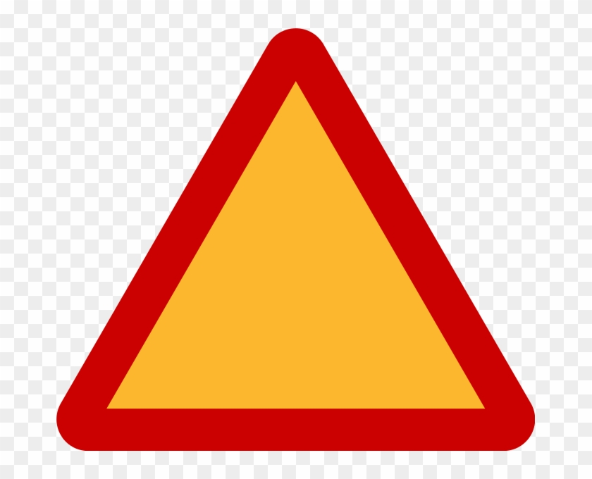 Triangle Warning Sign.
