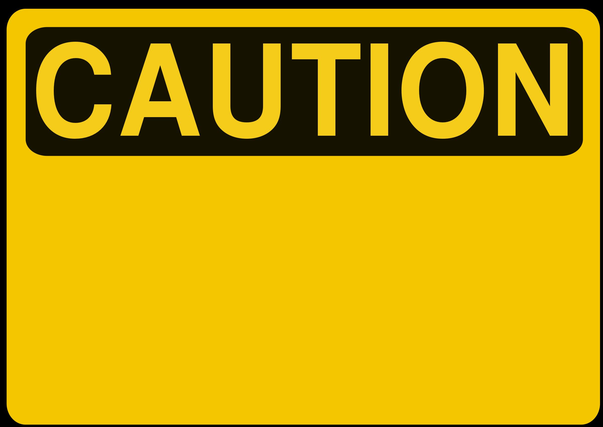 Warning signs clip art.